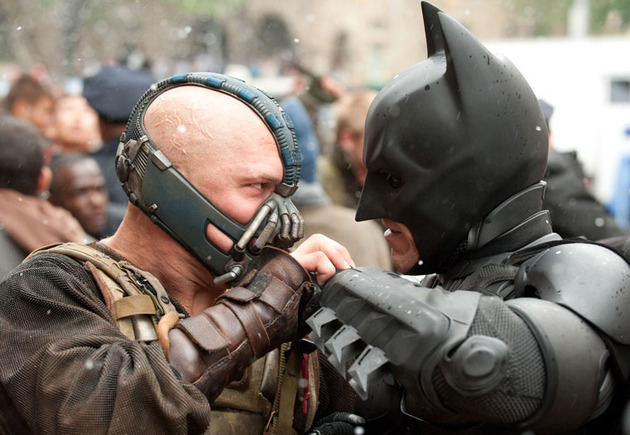 Dark Knight Rises - Face to Face with Batman