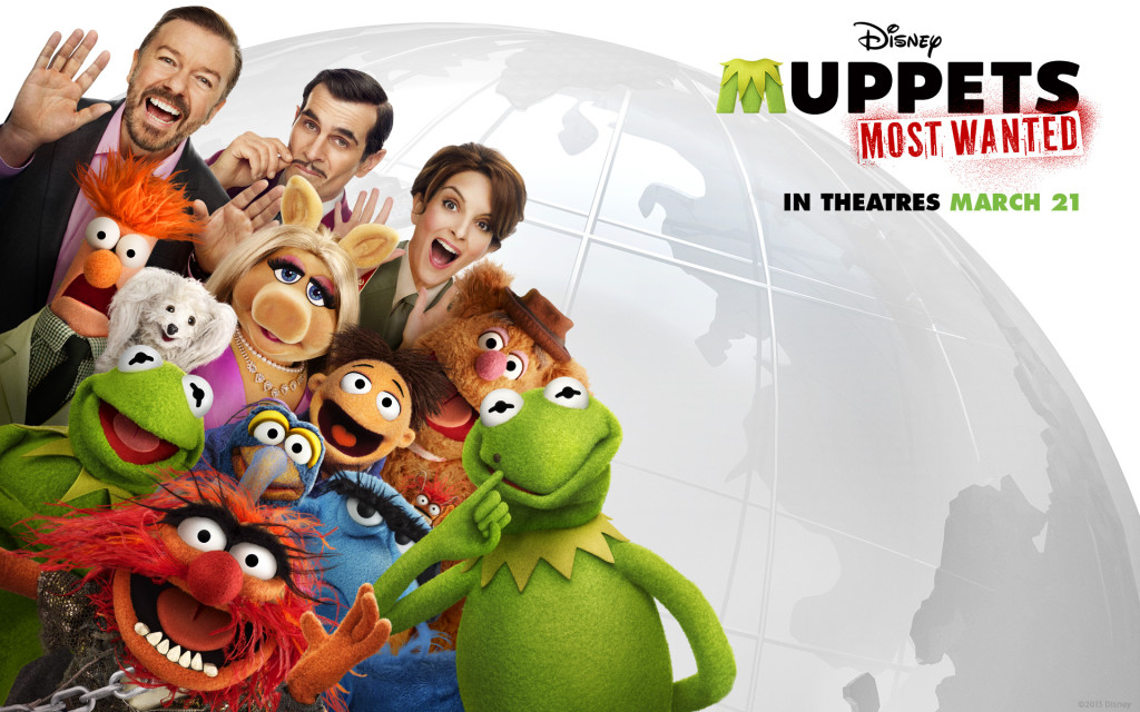 Muppets Most Wanted Title Page